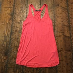 Feel the Piece pink tank, XS